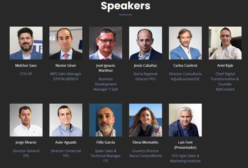 Ponentes TPS Printing Virtual Summit 2021